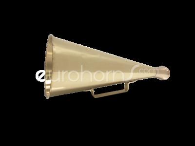 brass polished megaphone
